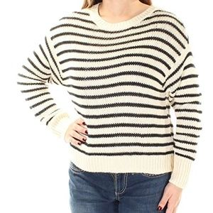Denim Supply Ralph Lauren Striped Fringe Sweater